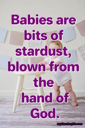 Baby Photo Captions