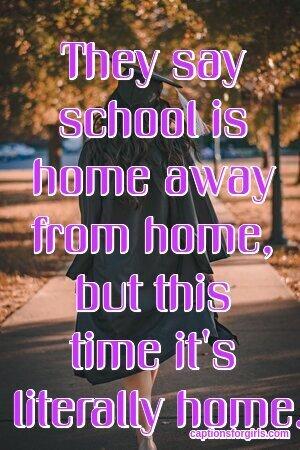 Back to School Captions