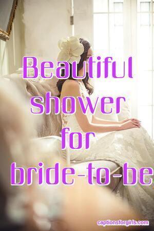 Bridal Shower Captions