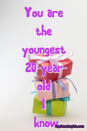 20th Birthday Captions For Instagram