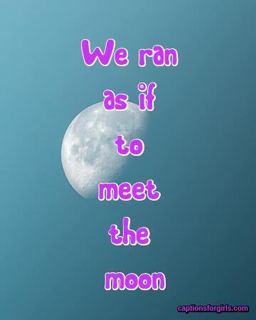 Moon Captions