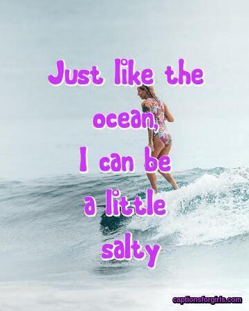 Ocean Captions