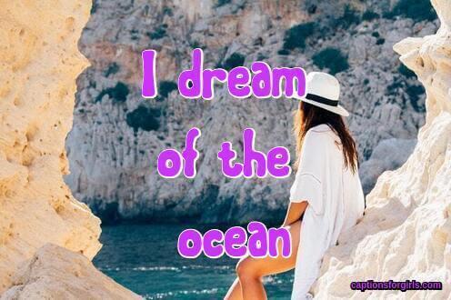 Ocean Instagram captions