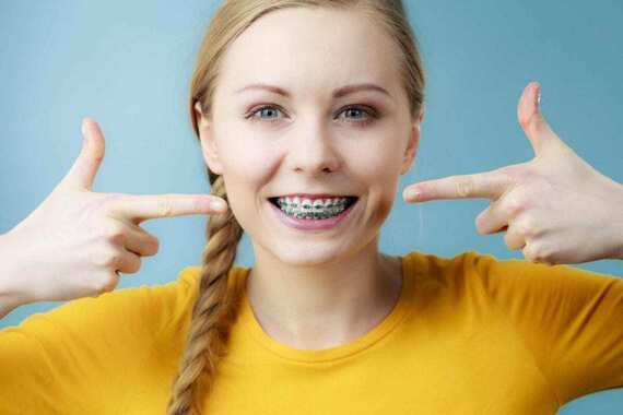 Girls With Braces Captions