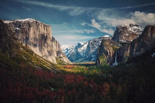 Yosemite Captions