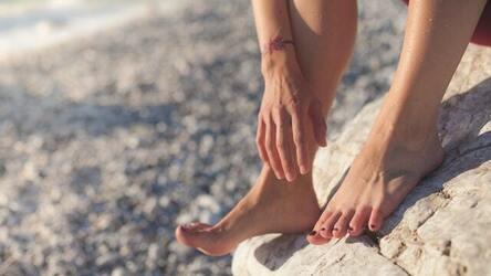Feet Captions