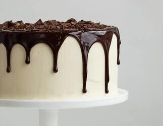 Choclate Cake Captions