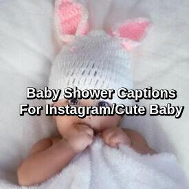 Baby Shower Captions For Instagram