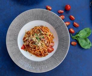 Spaghetti Captions